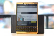 BlackBerry PassPort Silver Edition ( Mạ vàng 24k )