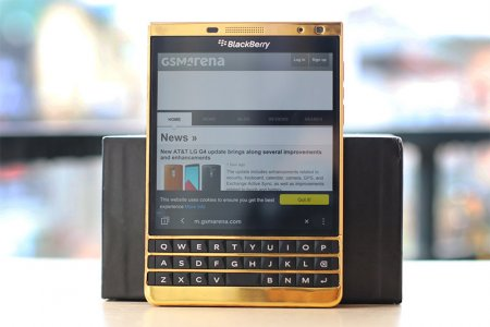 BlackBerry PassPort Silver Edition ( Mạ vàng 24k )