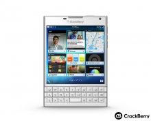 Blackberry Passport trắng