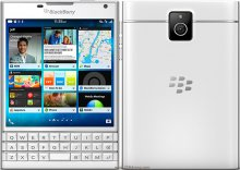 Blackberry Passport trắng cũ
