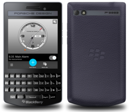 Blackberry porsche design p'9983 graphite likenew