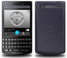 Blackberry porsche design p'9983 graphite ( lưng da ) mới