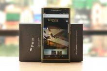 BlackBerry Priv mạ vàng 24K