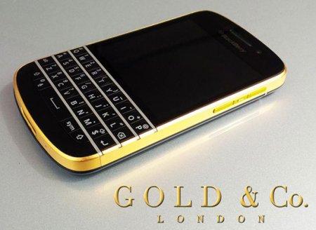 Blackberry Q10 Gold
