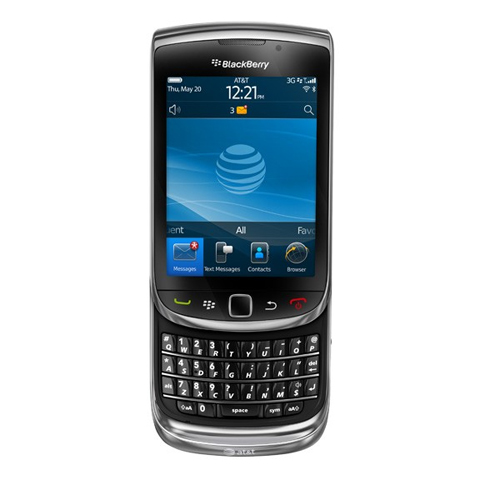 BlackBerry Torch 9800 ra mắt