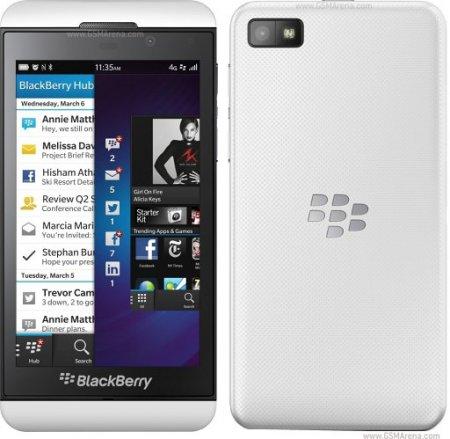 BlackBerry Z10 trắng