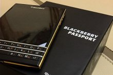 Blackberry Passport viền gold