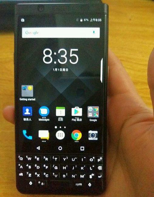 BlackBerry_KEYOne_Black_Edition_spotted_online