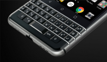 Bàn phím Blackberry KEYone Silver chính hãng