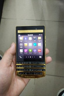 Blackberry porsche design p'9983 graphite gold LikeNew